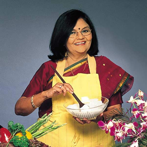 tarla dalal - Top Indian Chefs on TV