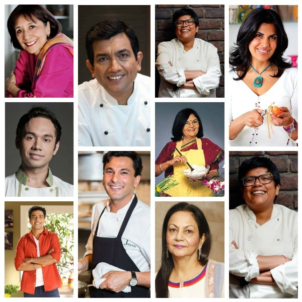 Top Indian Chefs on TV
