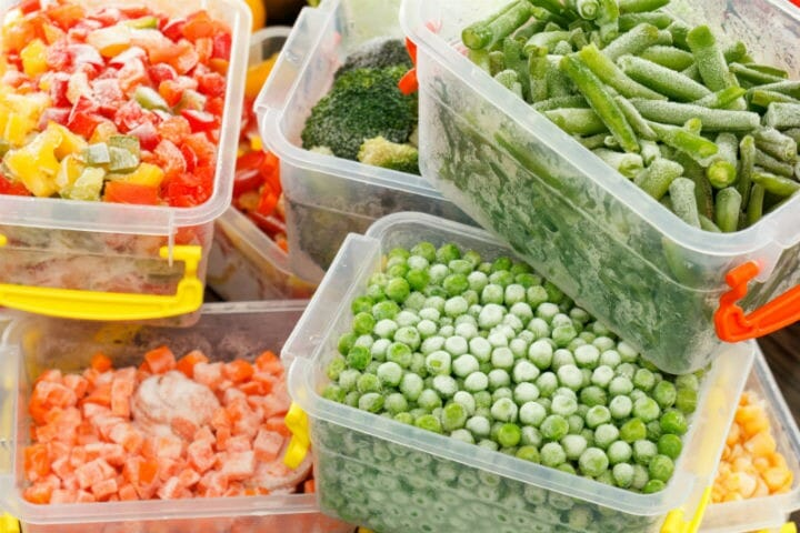 frozen vegetables - 9 Food Myths That are False