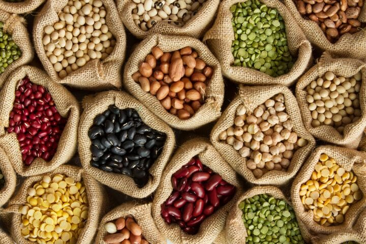 Beans - What vegetarian foods are high in protein?