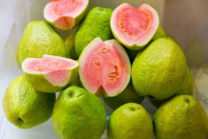 Guava - What vegetarian foods are high in protein?
