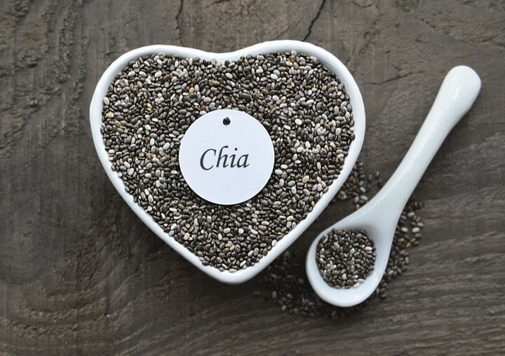 chia seeds - What vegetarian foods are high in protein?