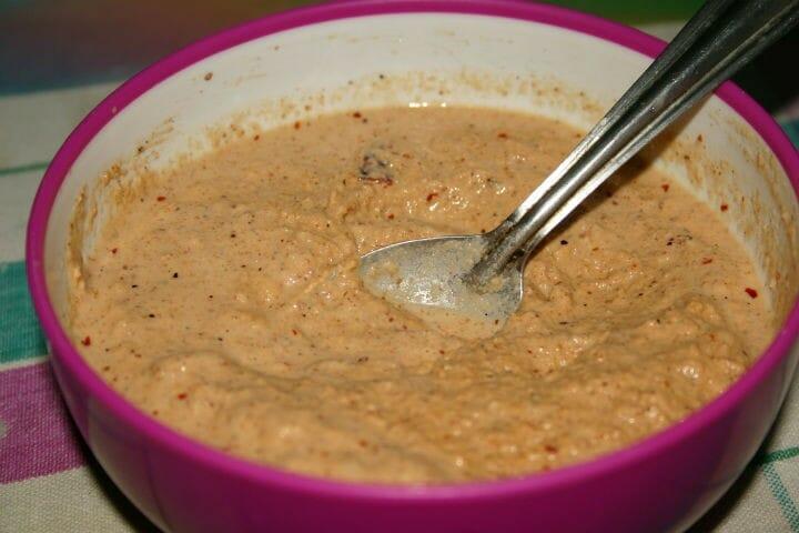 Sesame Peanut Chutney Recipe in Tamil