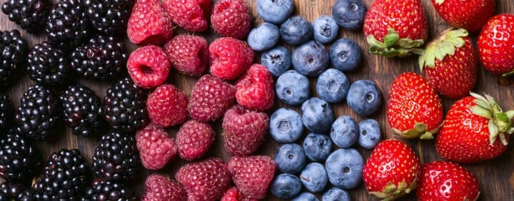 berries - 19 Foods to Take For Diabetes