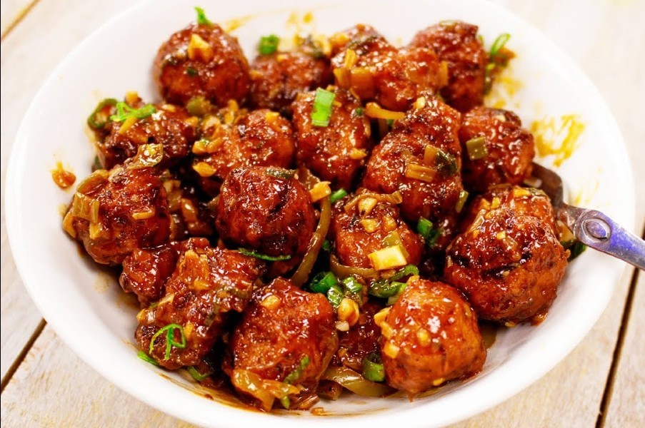 cabbage manchurian dry - Cabbage Manchurian
