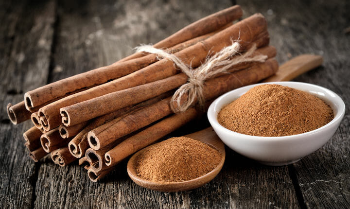 cinnamon - 19 Foods to Take For Diabetes