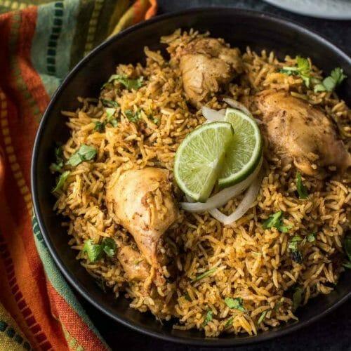 Chettinad Chicken Biryani