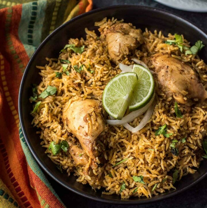 Chettinad Chicken Biryani