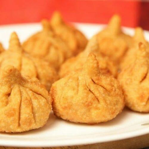 Fried Kozhukattai (Fried Modak)