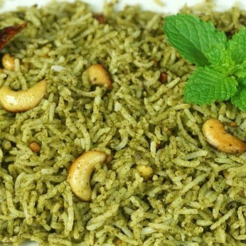 Cauliflower and Mint Rice