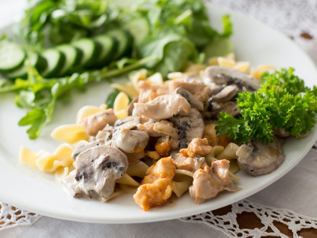 Chicken Stroganoff Supreme