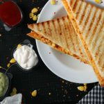 Spicy Mayo and Paneer Sandwich