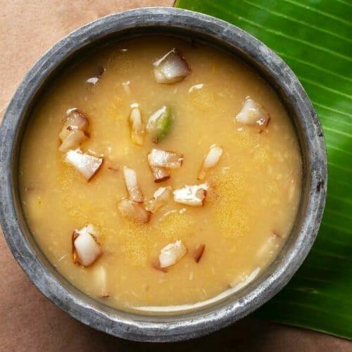 Mupparuppu Payasam (3 Dal Payasam)