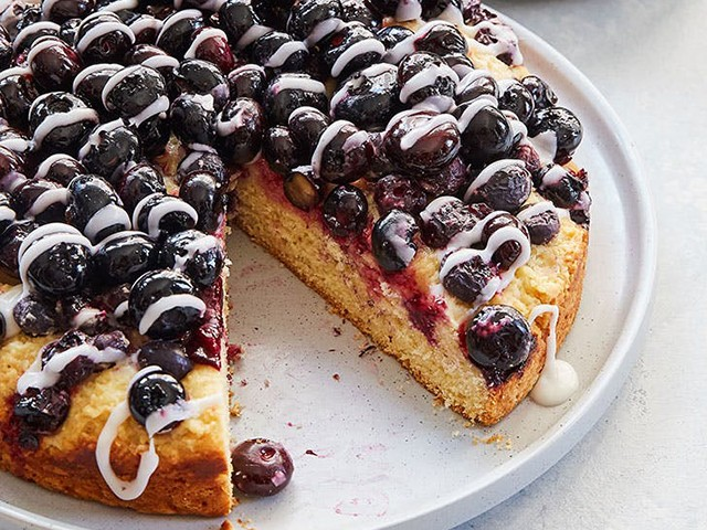 Blueberry Cake - 6 Cake Ideas To Surprise The Love Of Your Life