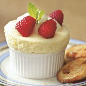 Eggless Lemon Souffle