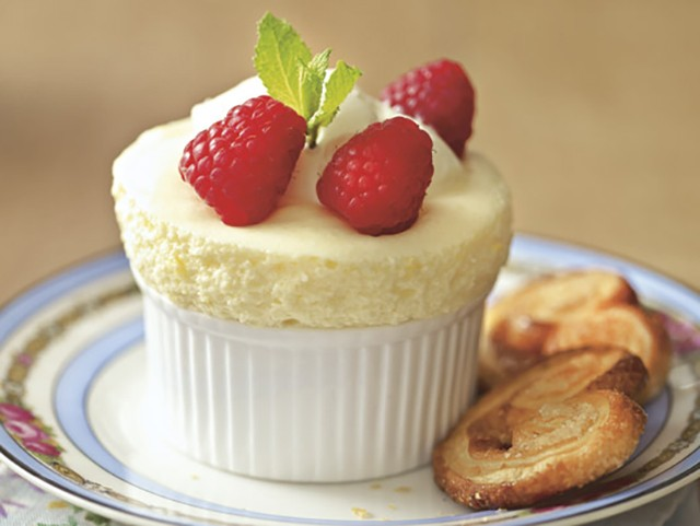 Egglees Lemon Souffle