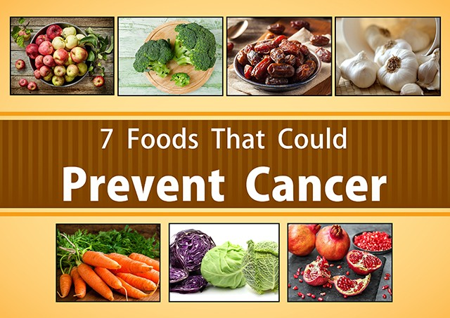 7 Foods That Could Prevent Cancer