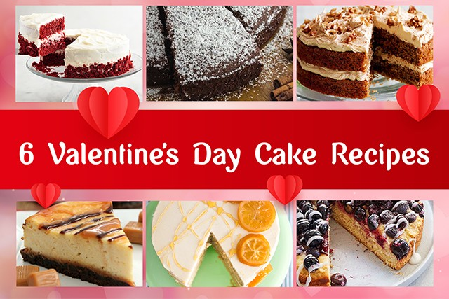 6 Yummy Cakes To Relish This Valentine's Day
