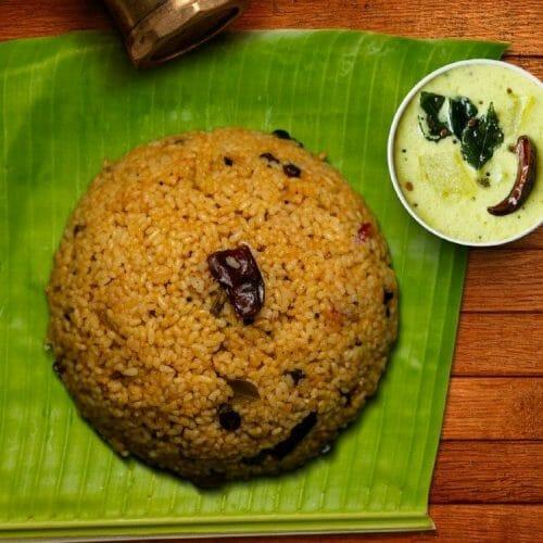 Puli Pongal (Tamarind Pongal)