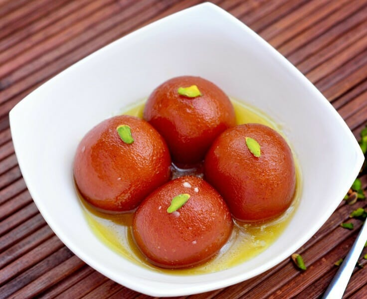 gulab jamun - 23 Must Have Diwali Sweets and Snacks