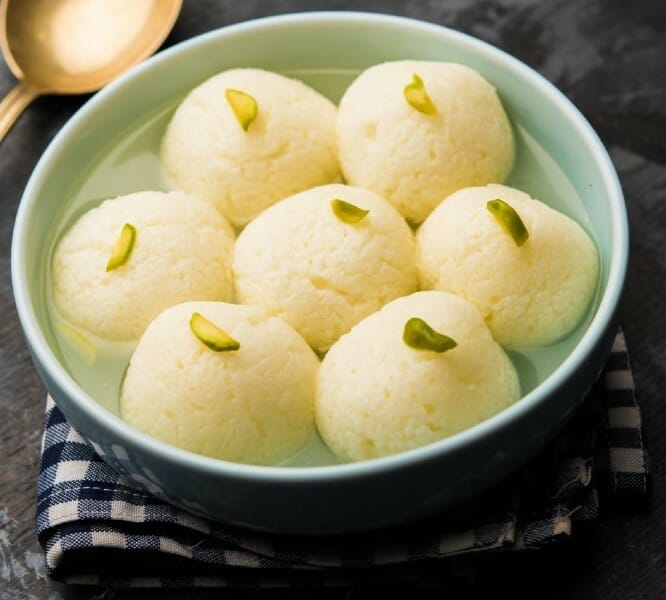 rasgulla - 23 Must Have Diwali Sweets and Snacks