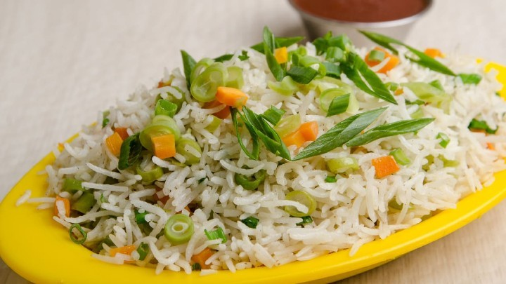 veg fried rice - வெஜிடபிள் ப்ரைட் ரைஸ்
