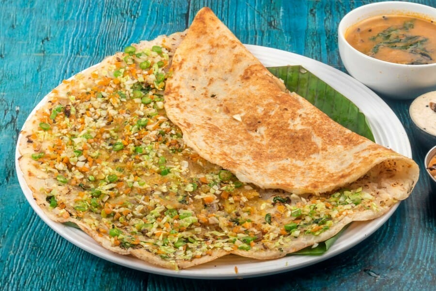 vegetable dosa - Vegetable Dosa