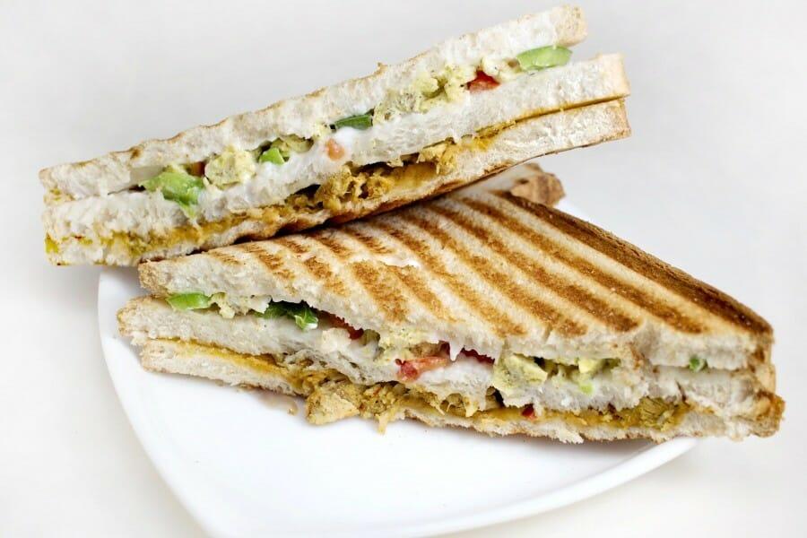 chicken sandwich - சிக்கன் சாண்ட்விச்