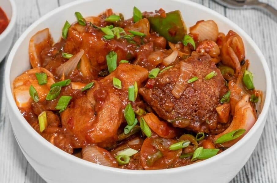 fried chilli idli - பிரைட் சில்லி இட்லி