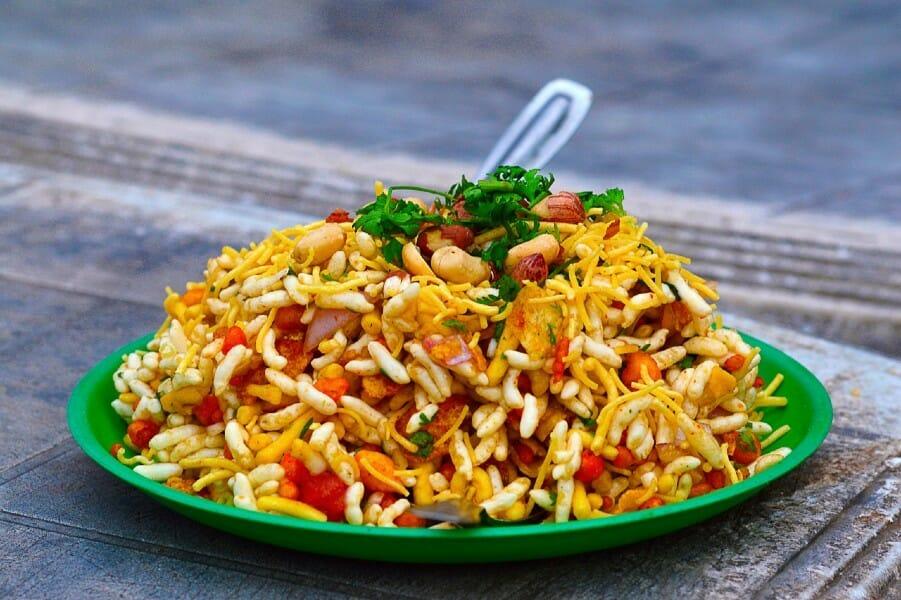 bhel puri - பேல் பூரி