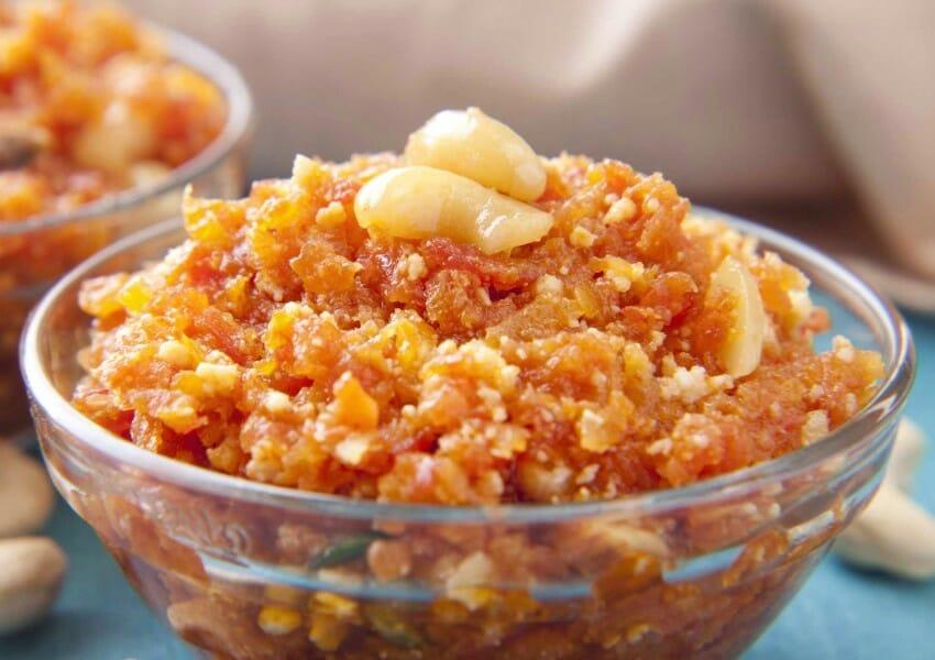 carrot halwa - கேரட் அல்வா