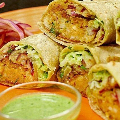 Chapati Veg Roll