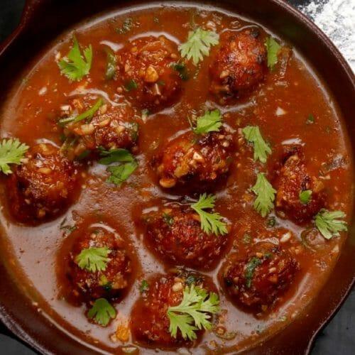 Vegetable Manchurian Gravy