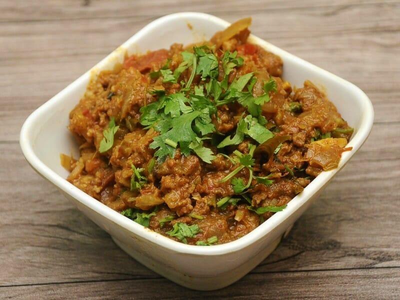 mutton kothu kari - மட்டன் கொத்து கறி