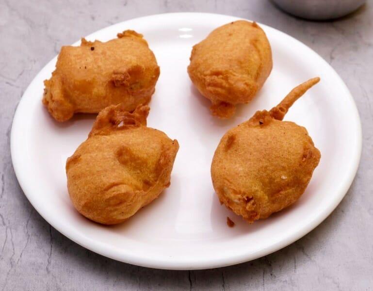 potato bonda - உருளைக்கிழங்கு போண்டா