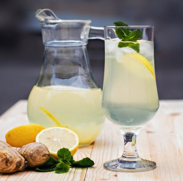 Lemon Ginger Juice
