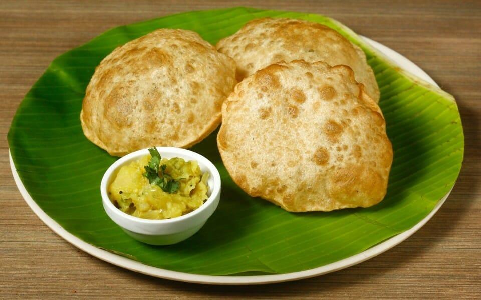poori masala kizhangu - Poori Bhaji