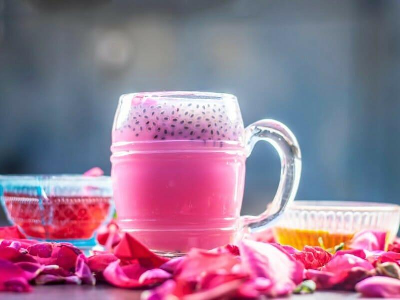 Rose Milk Sharbat