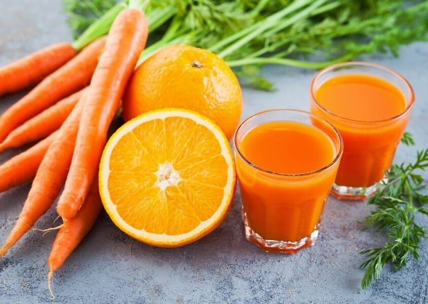 carrot orange juice - கேரட் ஆரஞ்சு ஜூஸ்