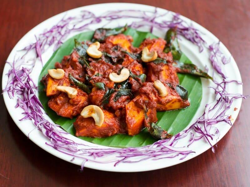 paneer ghee roast - பன்னீர் நெய் பிரட்டல்