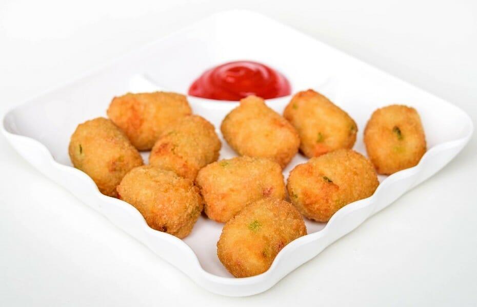 potato nuggets - உருளைக்கிழங்கு நக்கட்ஸ்
