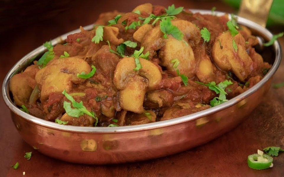 mushroom masala - மஷ்ரூம் மசாலா
