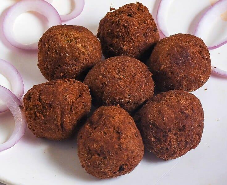 chicken kola urundai - சிக்கன் கோலா உருண்டை