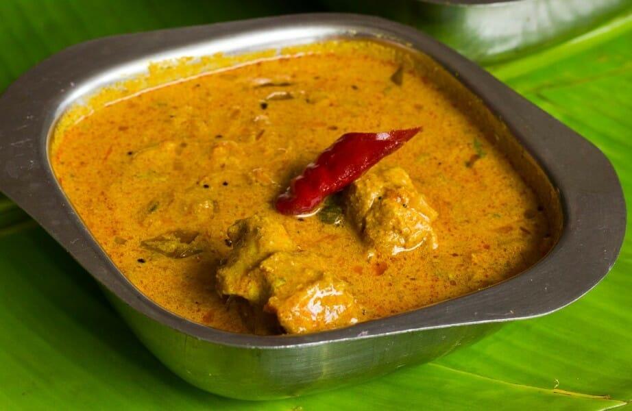 mutton kuzhambu - மட்டன் குழம்பு