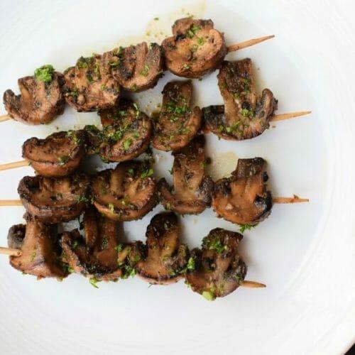 கிரில்டு மஷ்ரூம் (Grilled Mushrooms)