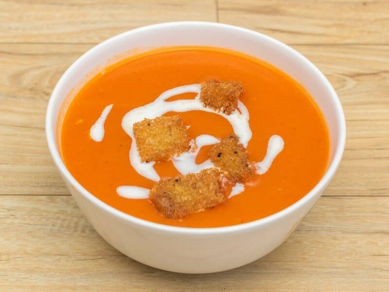 tomato soup - தக்காளி சூப்
