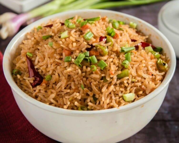 Chicken Szechuan Fried Rice / சிக்கன் செஷ்வான் ஃப்ரைட் ரைஸ்