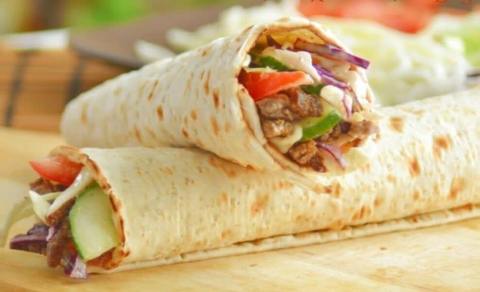 chicken shawarma - சிக்கன் ஷவர்மா