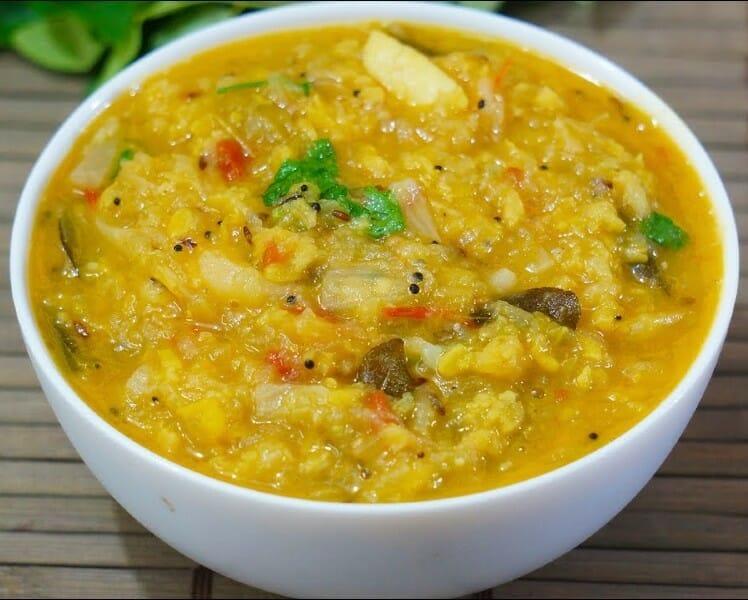 Pudalangai Kootu / Chow Chow Kootu / புடலங்காய் கூட்டு